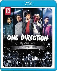 Cover One Direction - Up All Night - The Live Tour [DVD]